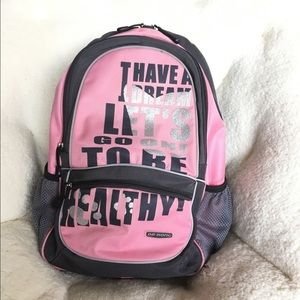 Dr Kong's Pink Posture Large Comfortable Backpack